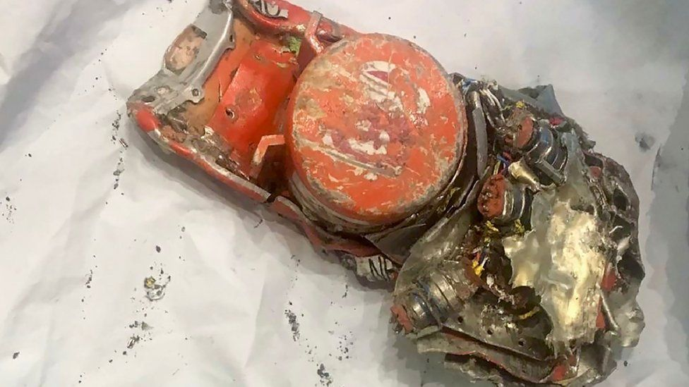 France's BEA has released a photo of one of the black boxes recovered from the Ethiopian Airlines crash site