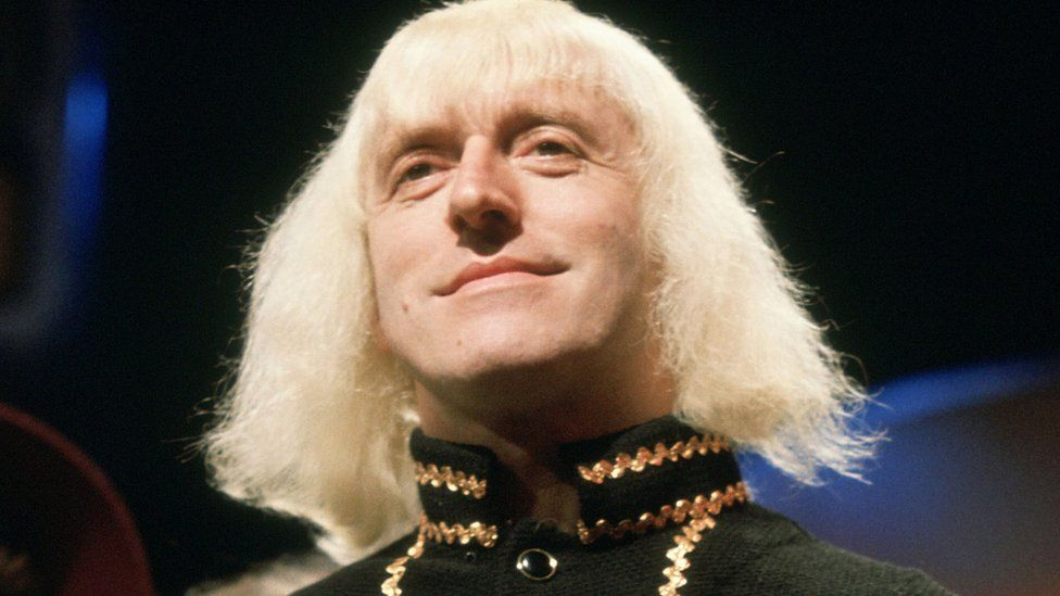 Jimmy Savile presenting Top of the Pops in 1973