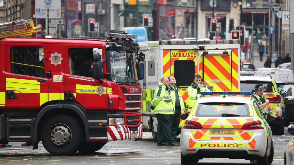Emergency services in the area