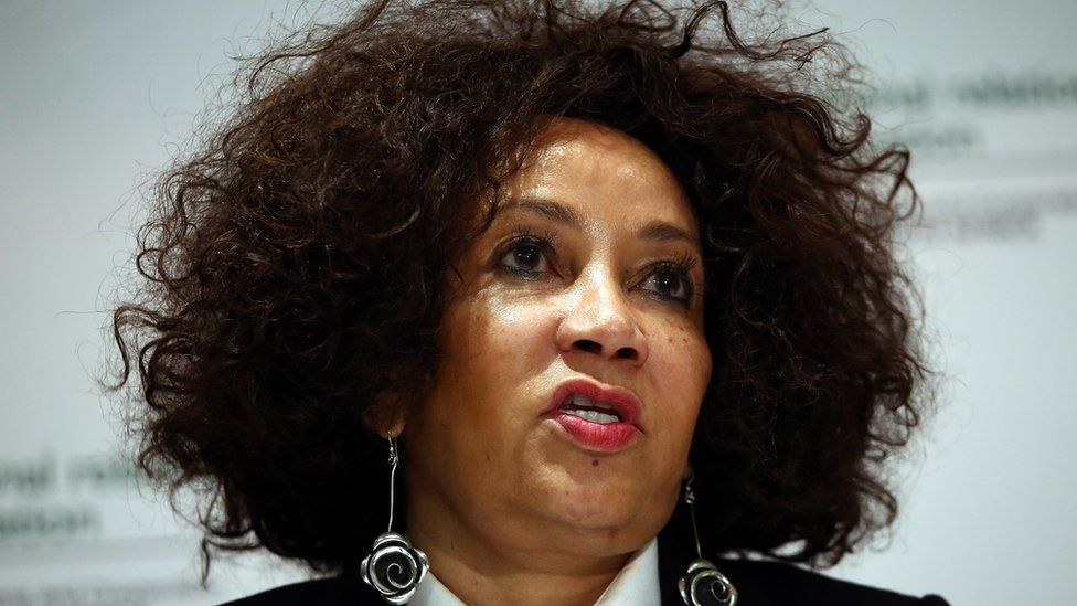 Minister of Human Settlements, Water & Sanitation, Lindiwe Sisulu, has urged the police to act against people targeting foreigners