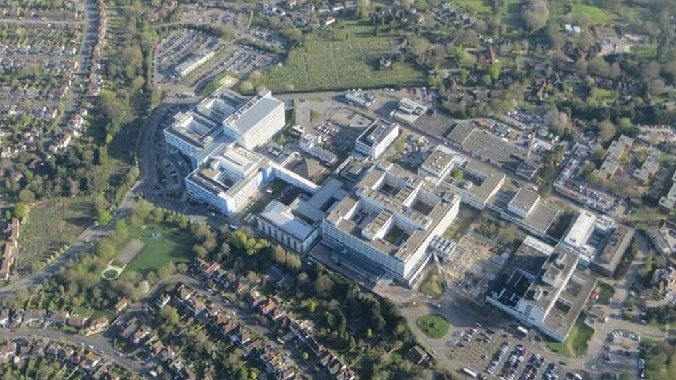 John Radcliffe Hospital from the air