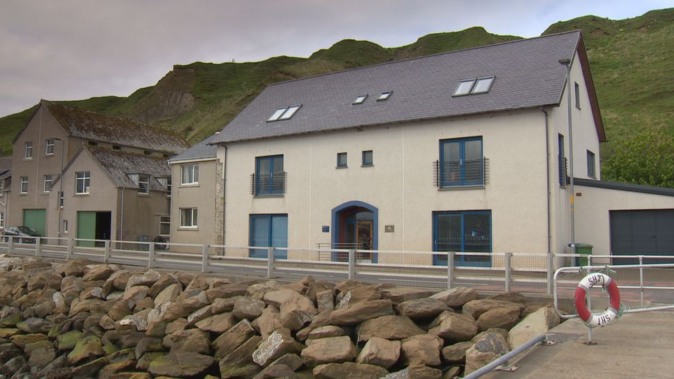 Marine Scotland's office in Scrabster
