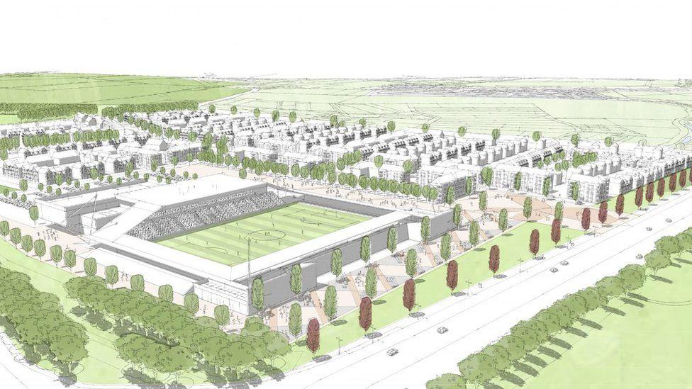Plan for new St Albans City stadium
