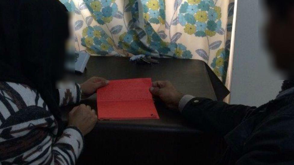 A 10-year-old Muslim boy's homework