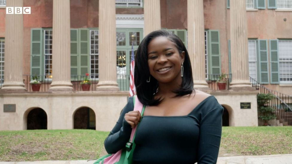 A'kayla Sellers, 21, says she's excited for what Harris can bring to the Democratic ticket