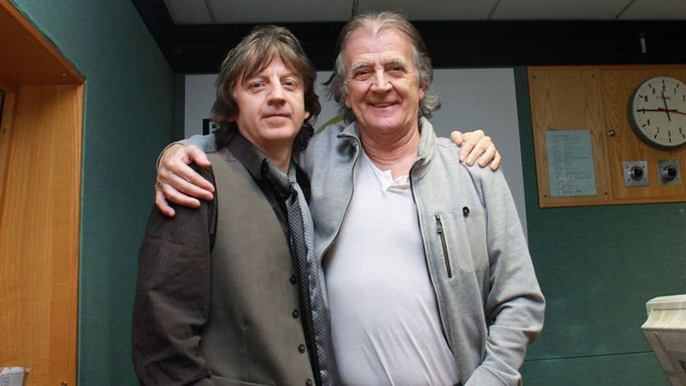 Bap Kennedy with Gerry Anderson