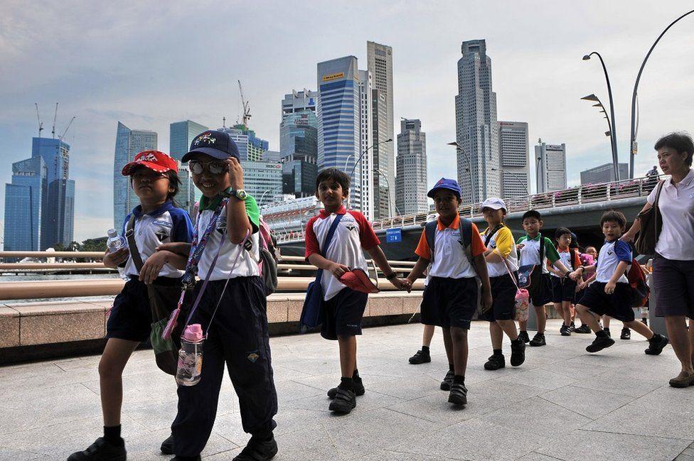 Children in Singapore