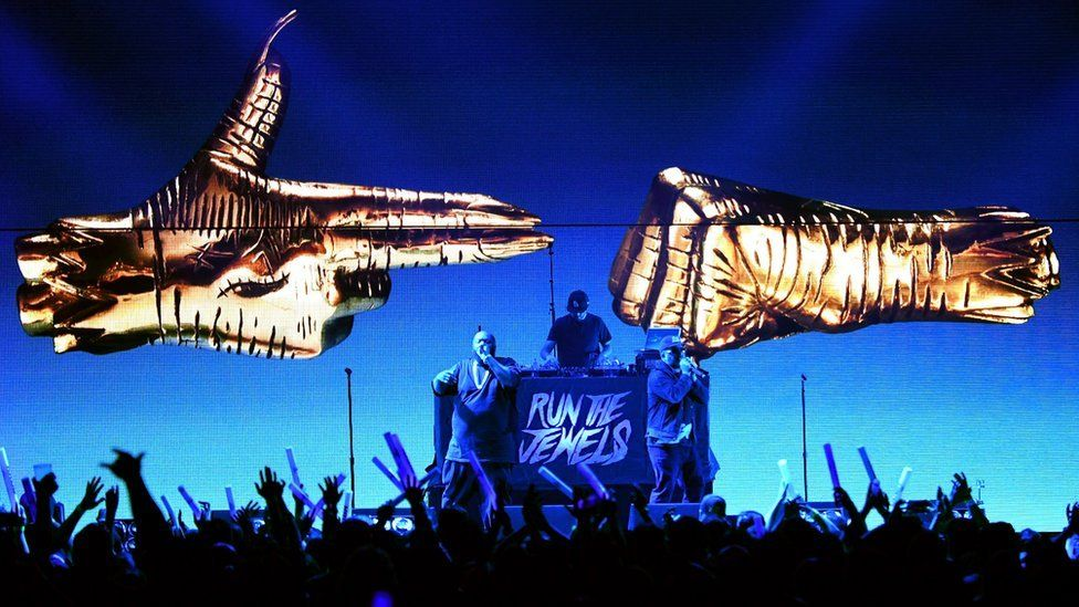 Run The Jewels performing