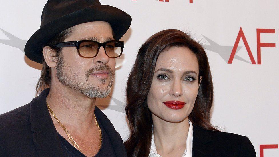 Brad Pitt and Angelia Jolie