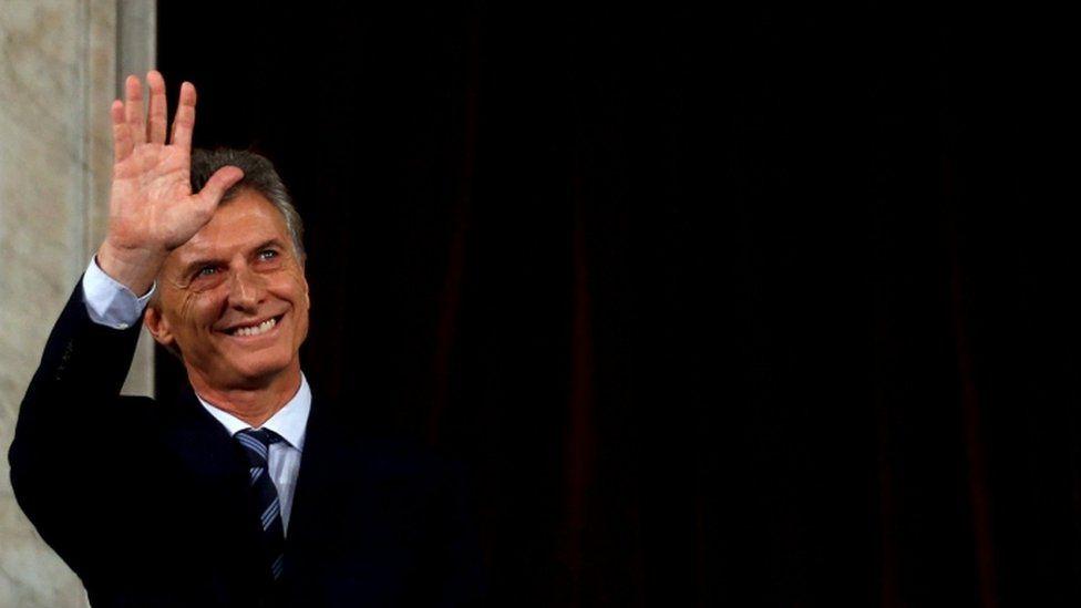 "Argentina""s President Mauricio Macri"