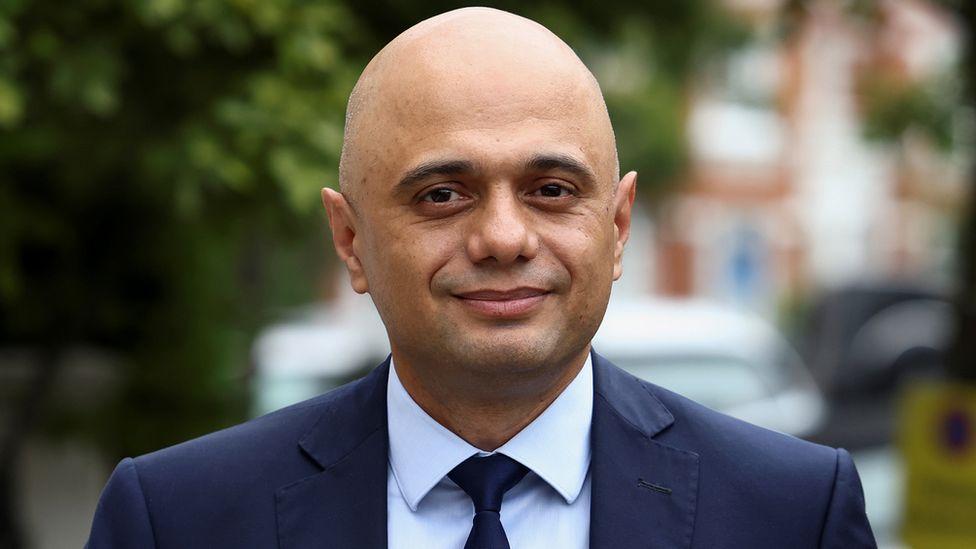 Sajid Javid criticised for 'cower' Covid remark - BBC News