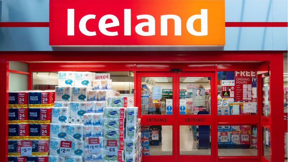 An Iceland store in Wales