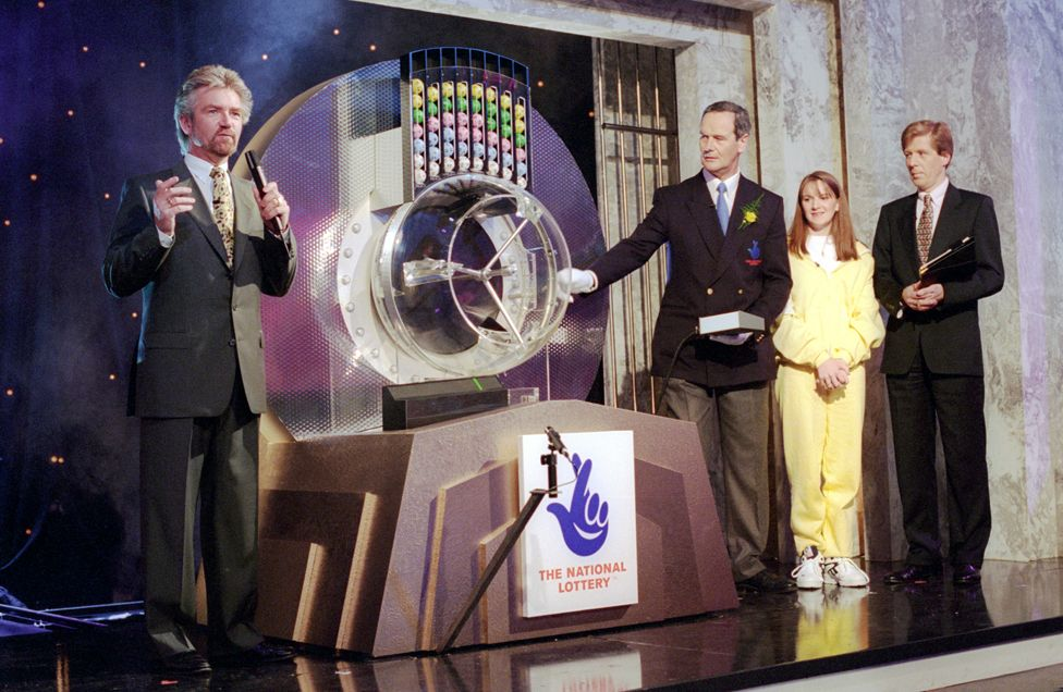 The National Lottery was launched in 1994 by Noel Edmonds