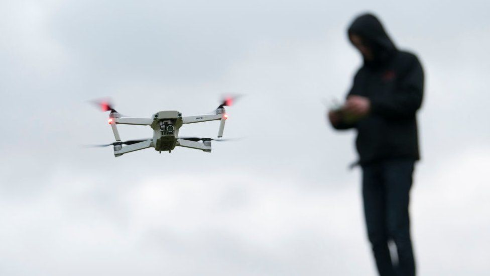 File picture of a drone