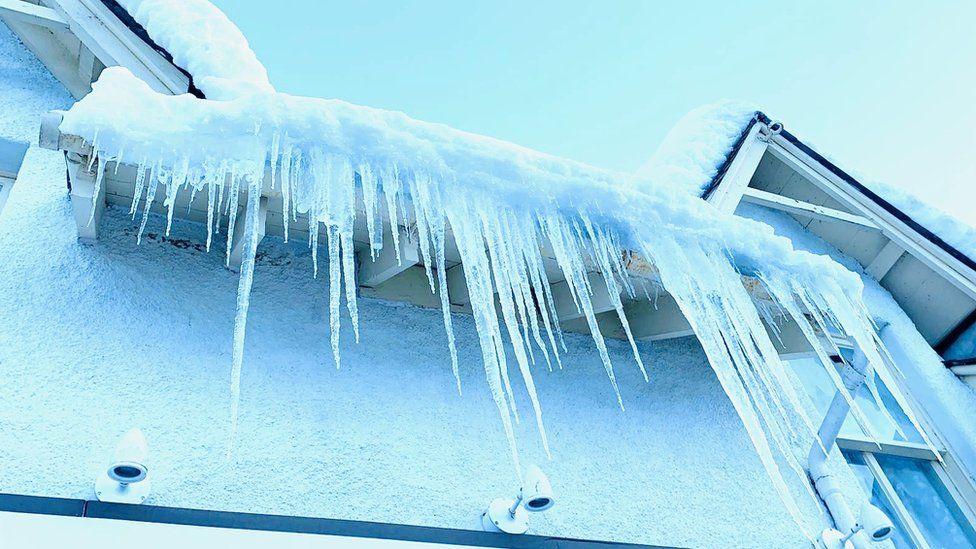 Braemar icicles