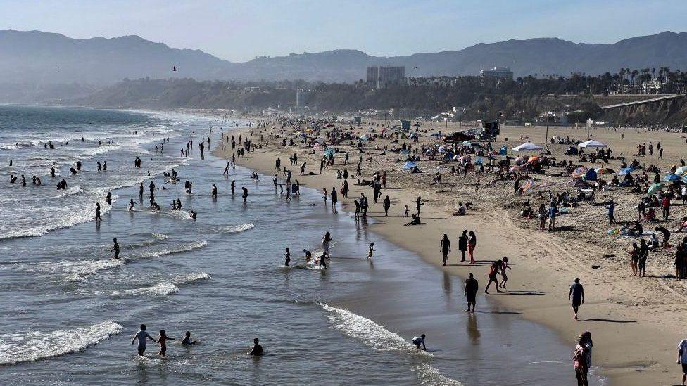 Beach in California