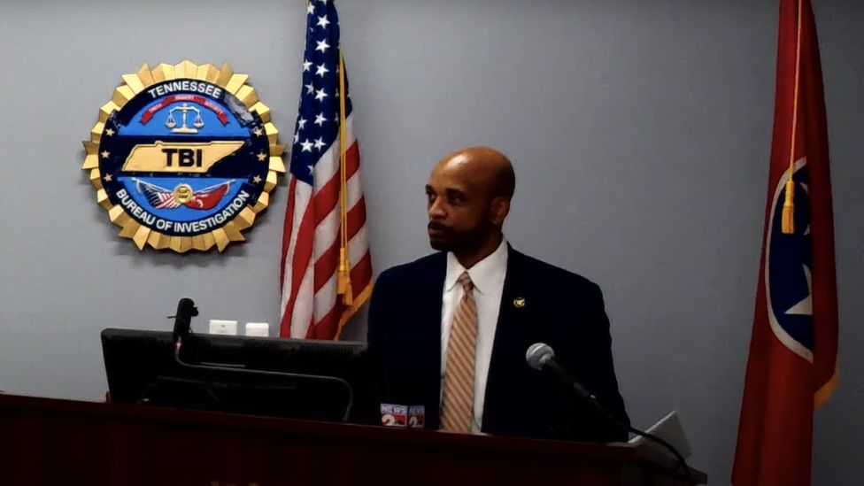 US Marshal for the Western District of Tennessee Tyreece Miller