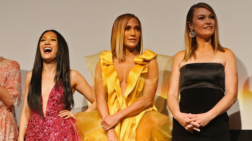 Constance Wu, Jennifer Lopez and Julia Stiles