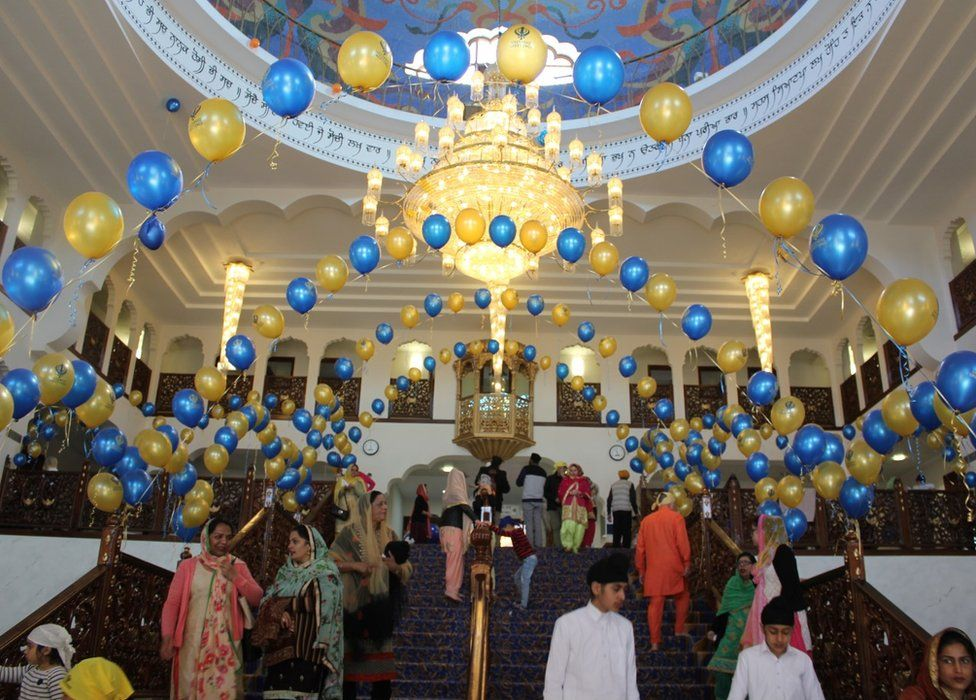 Vaisakhi celebrations in past years
