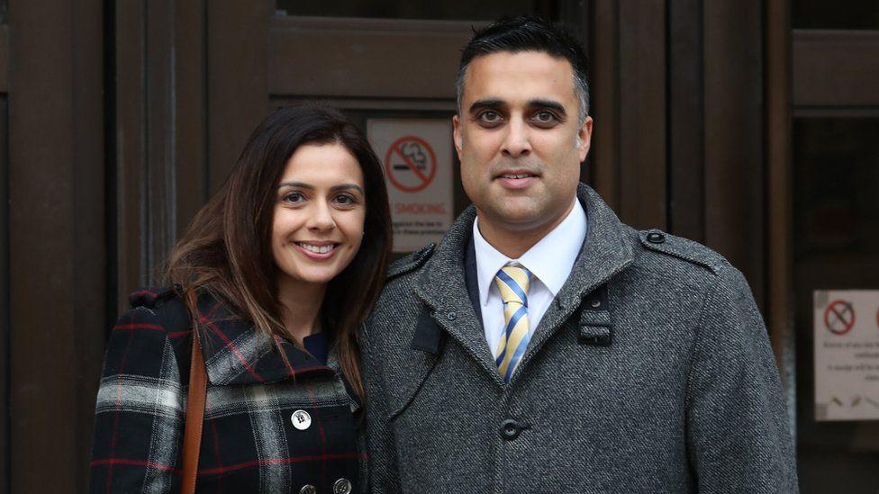 Reena and Sandeep Mander