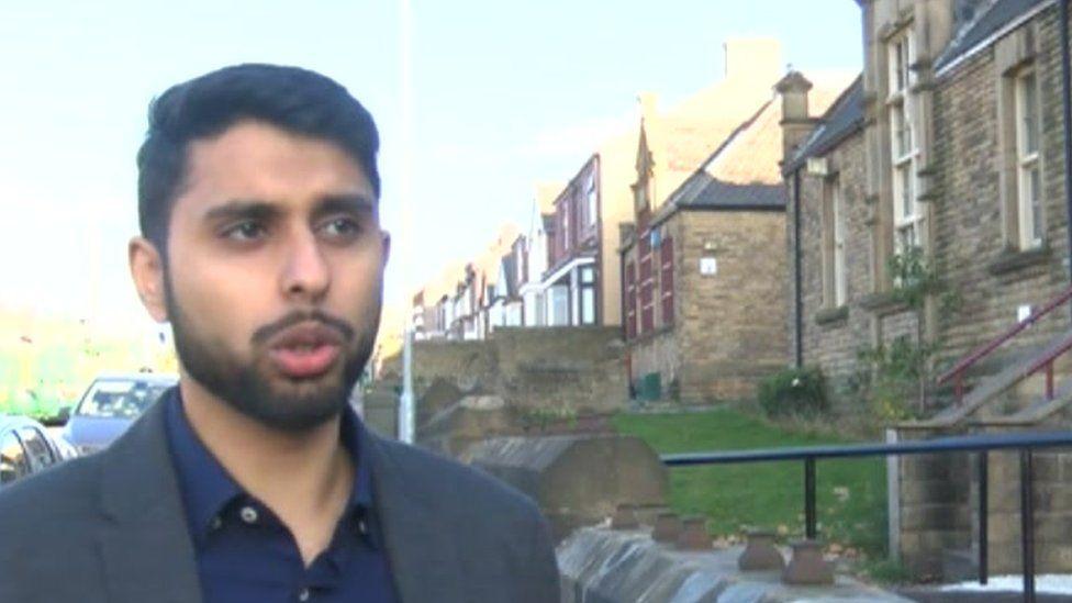 Vakas Hussain of British Muslim Youth