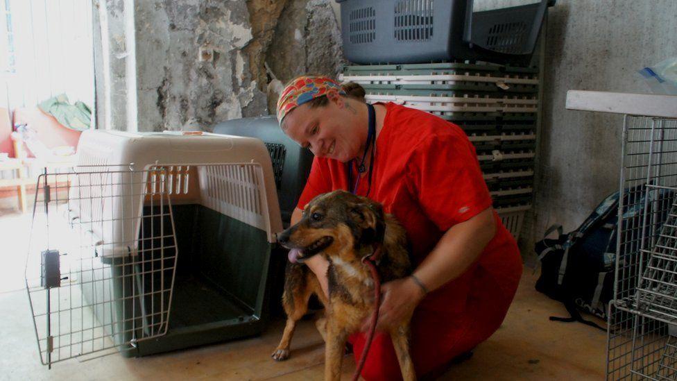 Анжела і собака