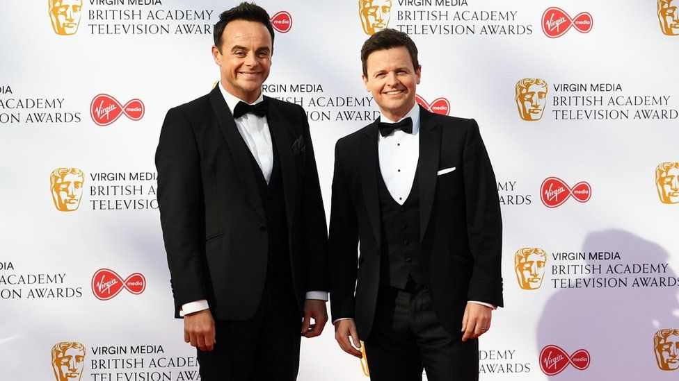 Ant and Dec at the Baftas