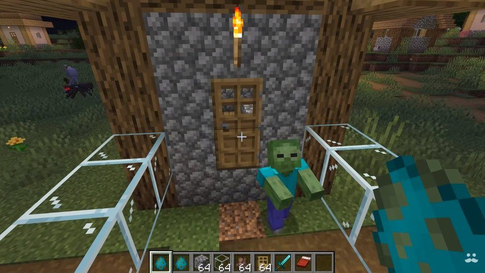 Minecraft Five Top Tips From Honey To Zombie Villagers Cbbc Newsround