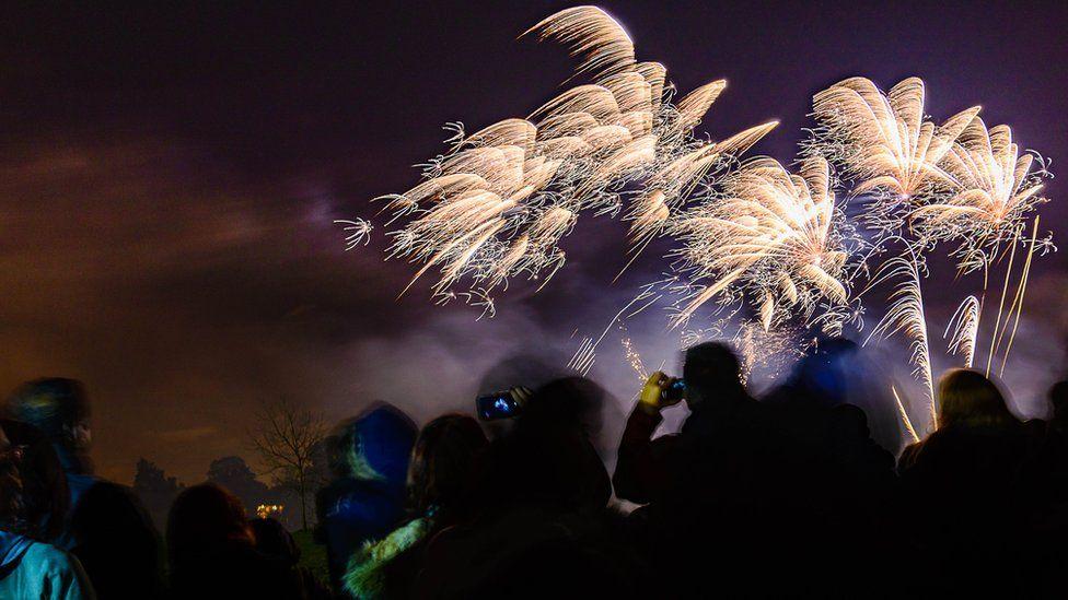 Fireworks in Morden