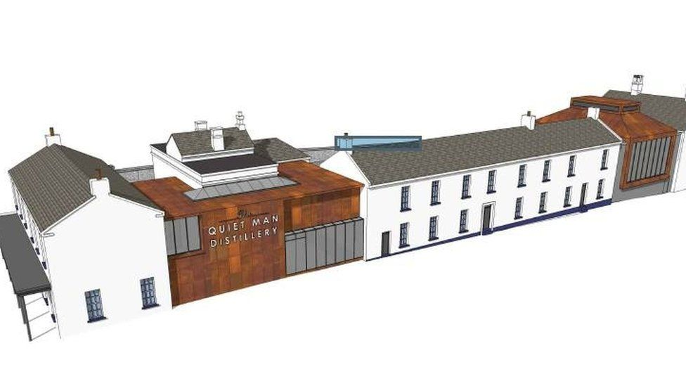 design of quiet man distillery