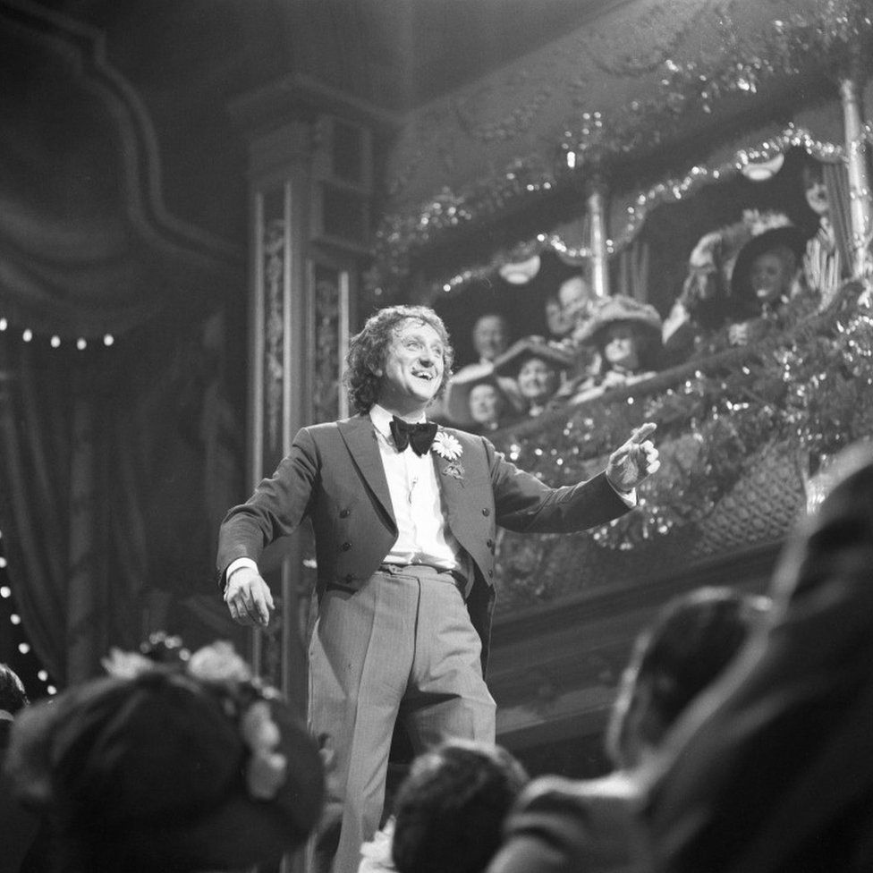 Ken Dodd performing on the Good Old Days