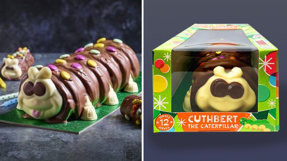 M&S hits back at Aldi's Cuthbert the Caterpillar cake revival thumbnail