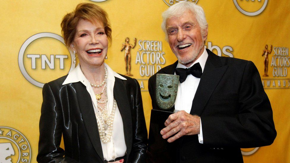 Mary Tyle Moore and Dick Van Dyke