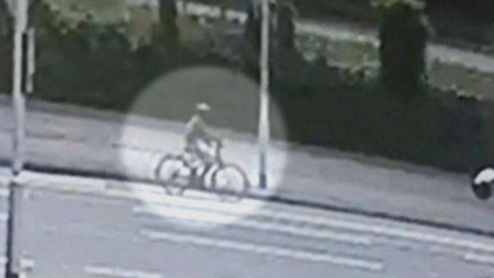 CCTV screengrab of Noah Donohoe