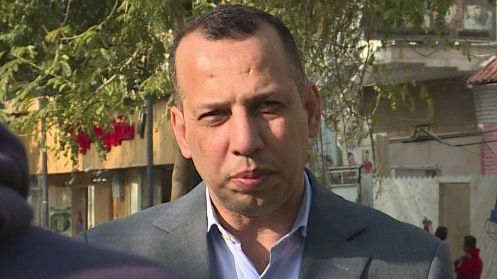 File photo from 2019 of Hisham al-Hashimi, an expert in Iraqi armed groups who was killed on 6 July 2020
