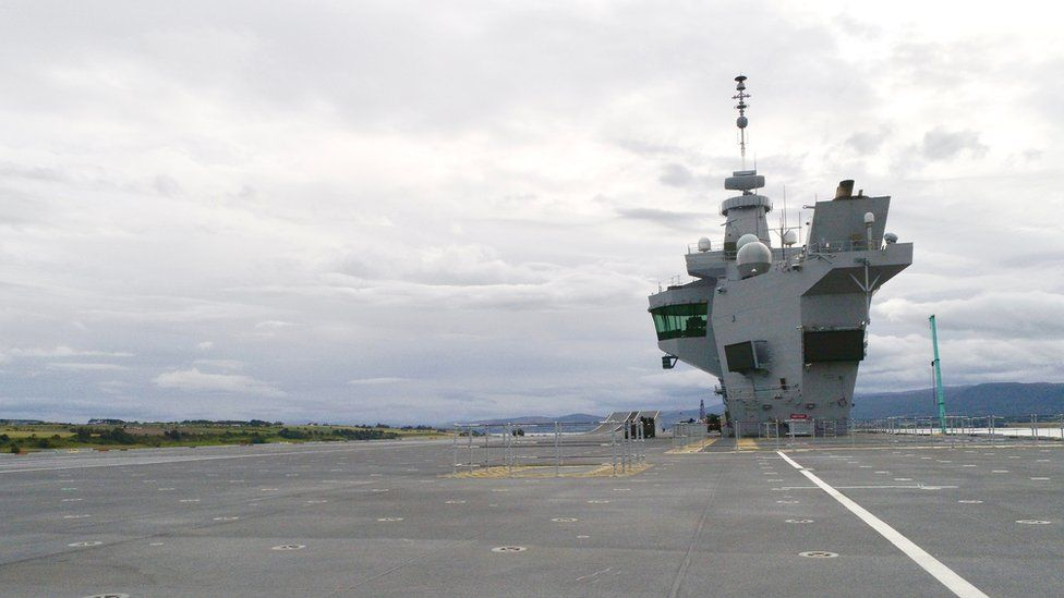 Image from deck of carrier