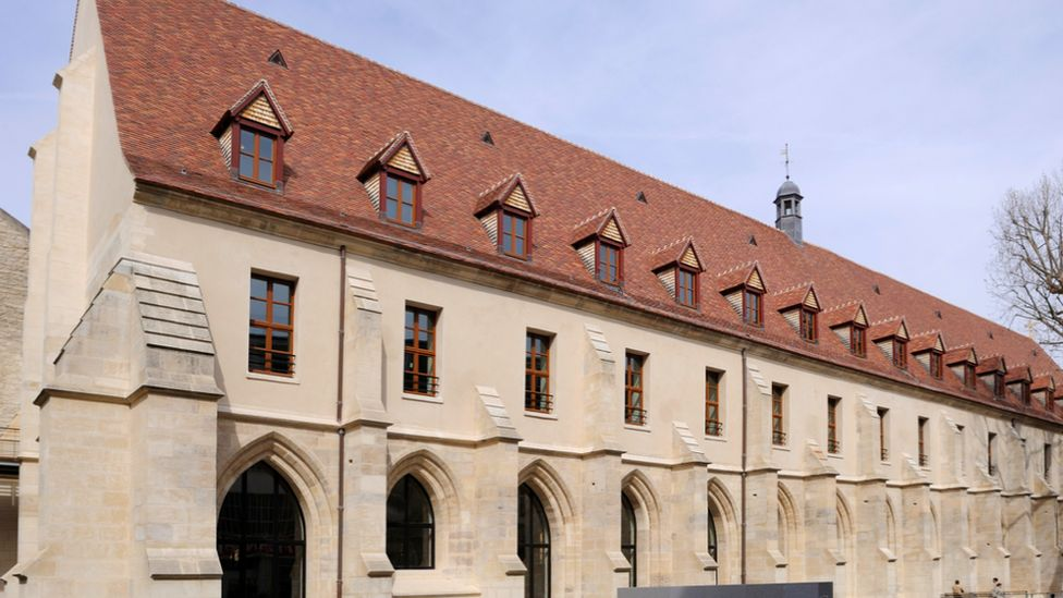 The Collège des Bernardins in Paris after it was restored by Jean-Michel Wilmotte
