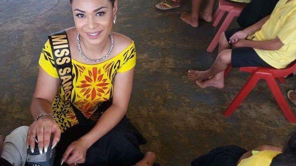 Miss Samoa Fa'afafine 2015 Steva Auina