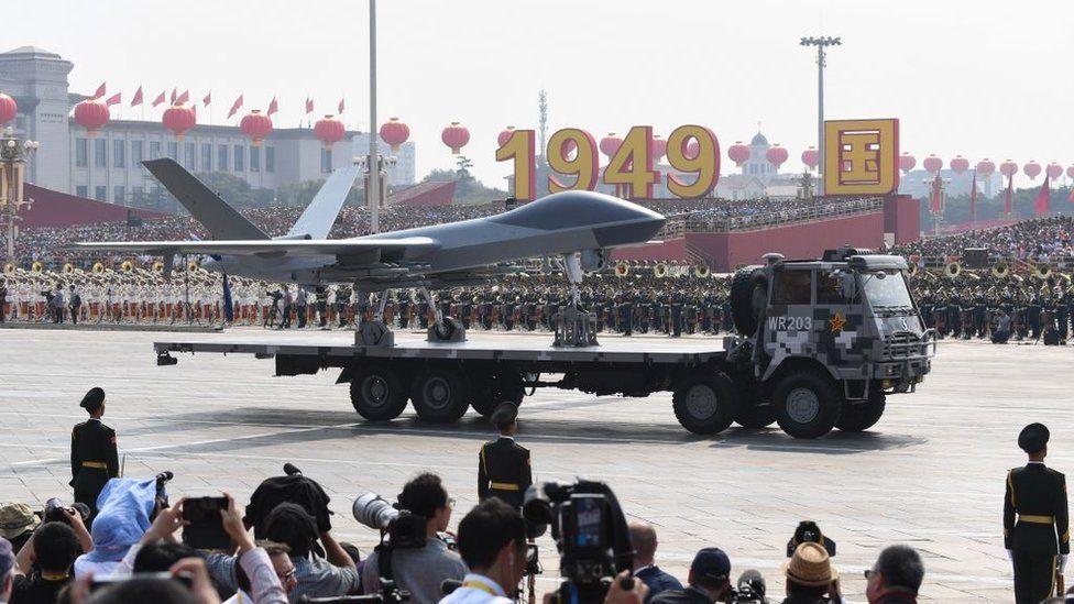 Китайські ударні безпілотники