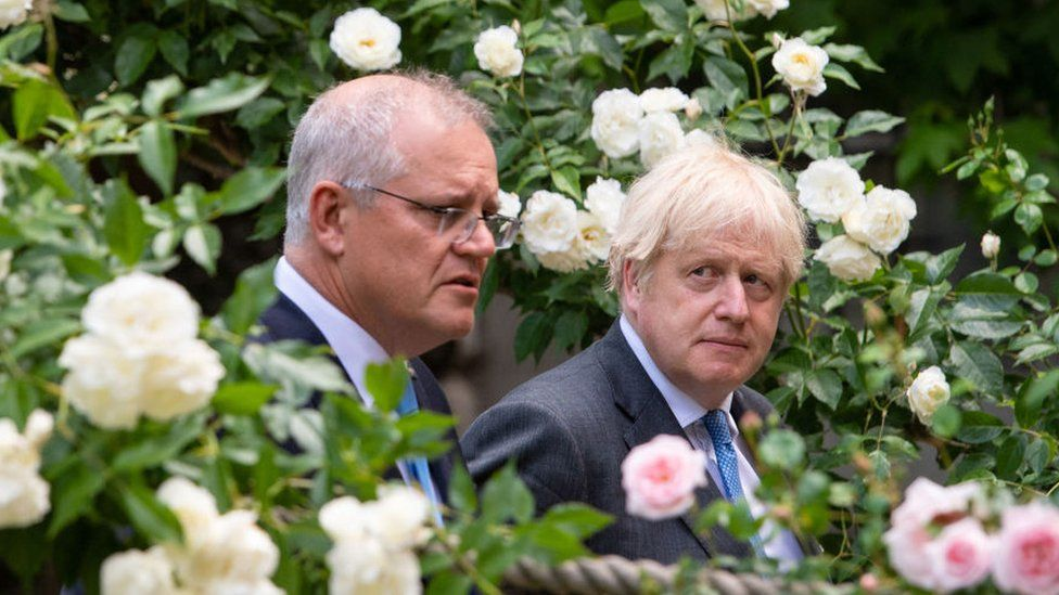UK 'cut climate pledges' to clinch Australia trade deal thumbnail