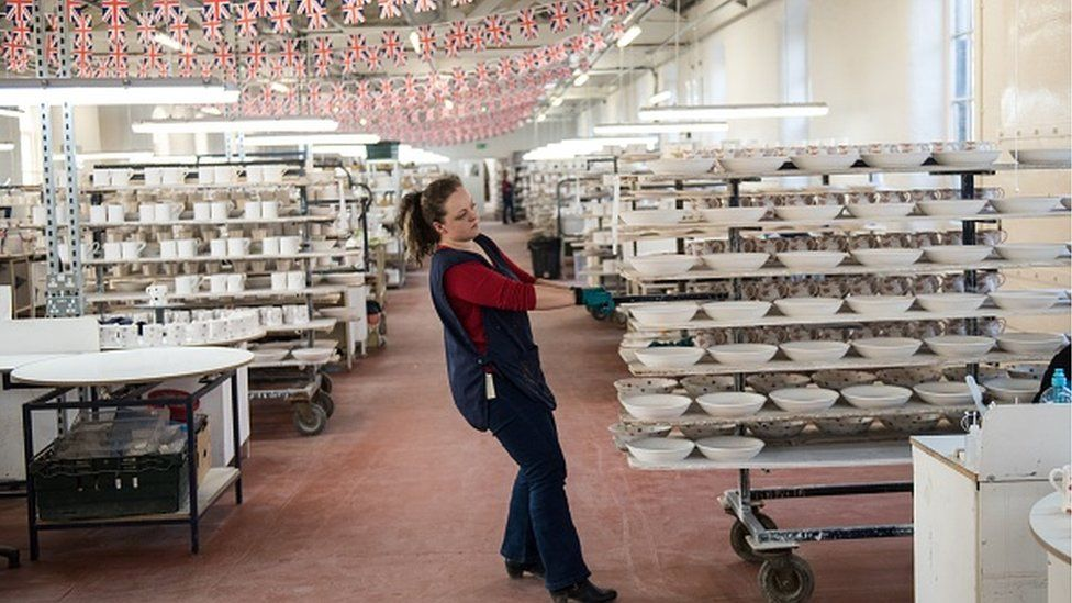 The Emma Bridgewater factory in Stoke-on-Trent