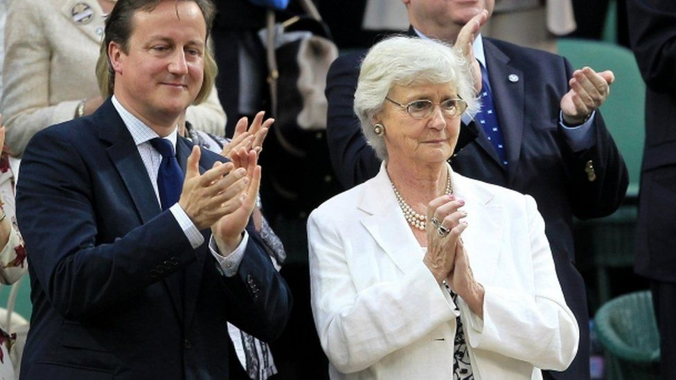 David and Mary Cameron, pictured 2012