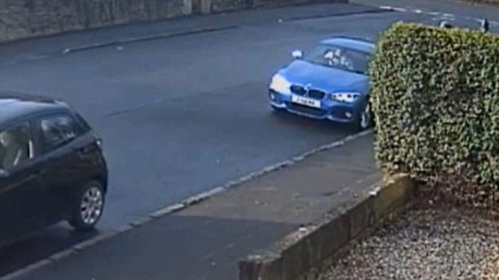 CCTV of Willox in Emma's car