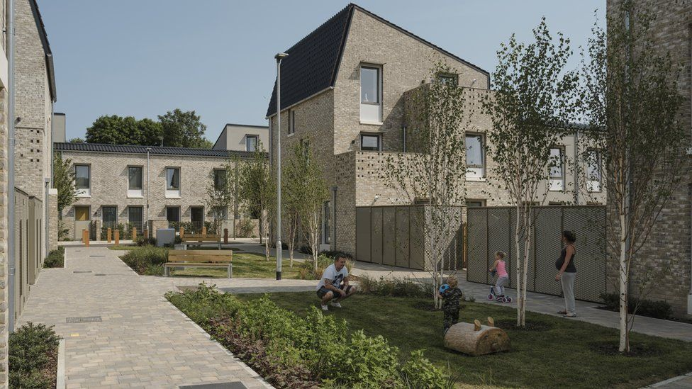 Ultra-low energy housing development in Norwich which won the Riba Sterling prize for 2019 (file pic)