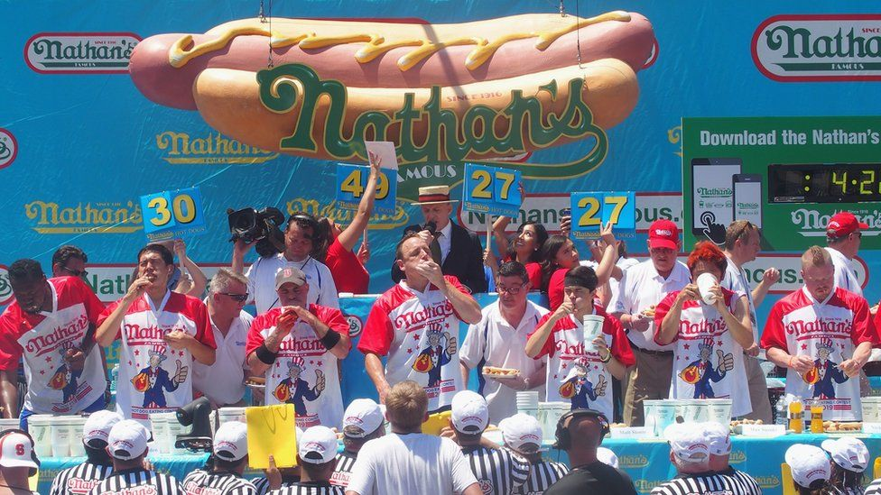 The 2019 Nathan's Famous Fourth of July International Hot Dog Eating Contest