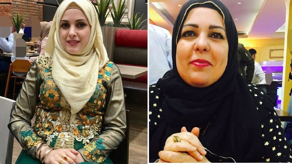 Raneem Oudeh and her mother Khaola Saleem