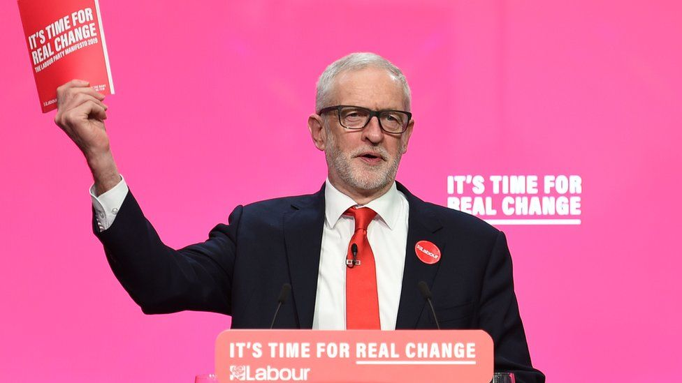 Jeremy Corbyn launches his party's manifesto in Birmingham