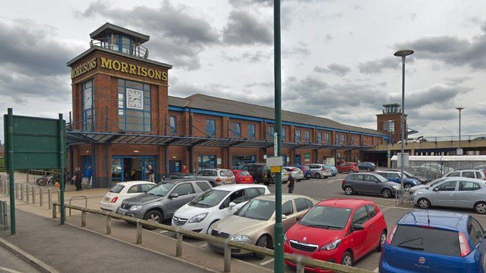 Morrisons supermarket, Redcar