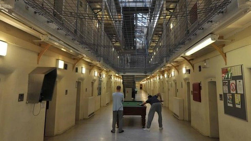 Cell block at Wormwood Scrubs