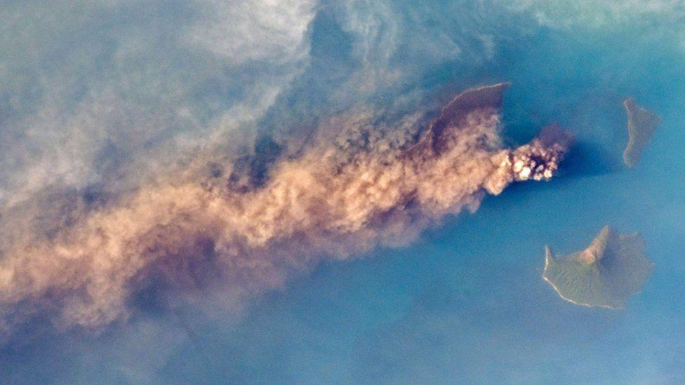 Anak Krakatau volcano. Photo: September 2018